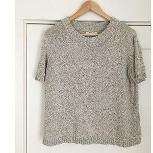 Madewell Short Sleeve Sweater Tank